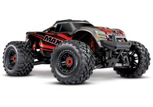 Traxxas Maxx 4x4 1/10 RTR TQi Brushless TSM With Battery / Charger