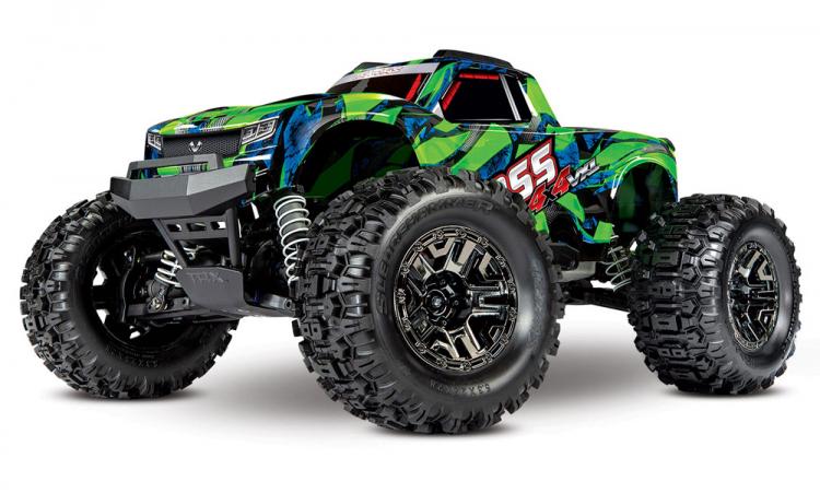 HOSS 4x4 VXL 1/10 Monster Truck RTR TQi TSM