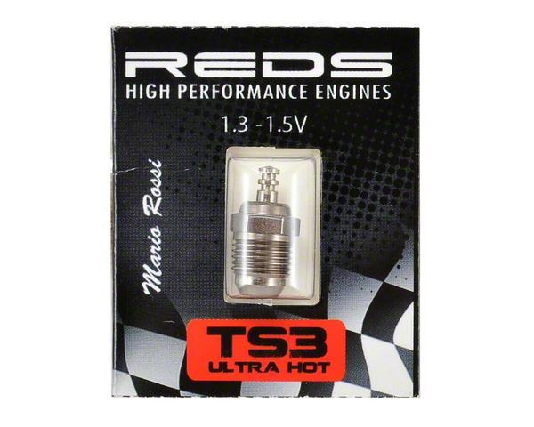 Glödstift Turbo TS3 Off-road Ultra Hot 0-25°C Reds Racing