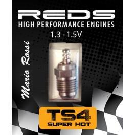 Glödstift Turbo TS4 Off-road Super Hot 20-35°C Reds Racing