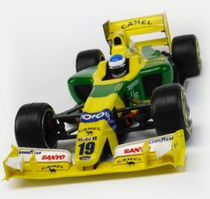 Formel 1 Kaross Type-6C Bittydesign Omålad