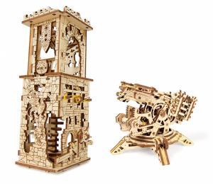 Ugears Archballista-Tower Träbyggsats