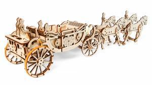 Ugears Royal Carriage Träbyggsats