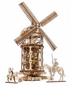 Ugears Tower Windmill Träbyggsats
