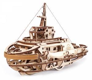 Ugears Bogserbåt Träbyggsats