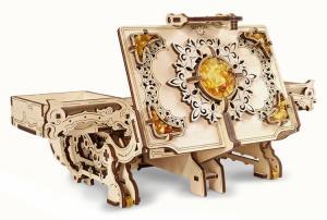 Ugears Amber Box Träbyggsats