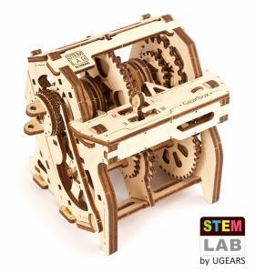 Ugears Gearbox STEM LAB Träbyggsats