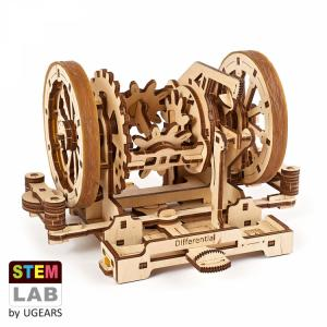 Ugears Differential STEM LAB Träbyggsats