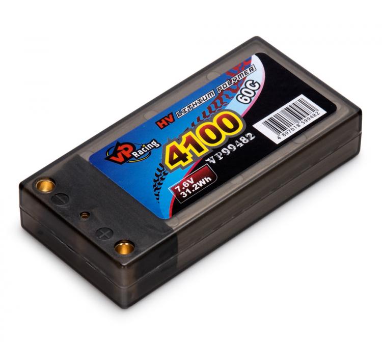Vapex LiPo Batteri 2S 7,6V 4100mAh 60C LCG Short EFRA2020