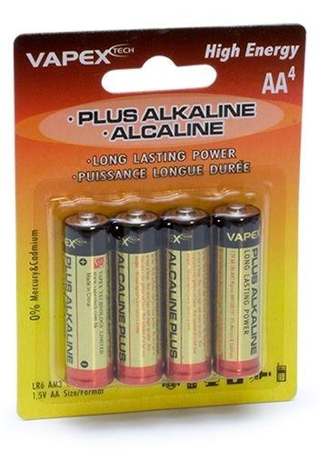 Plus Alkaline AA Batteri 1.5V (4 st.)