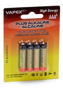 Plus Alkaline AAA Batteri 1.5V (4 st.)