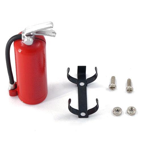 Brandsläckare Röd Metall Dekoration