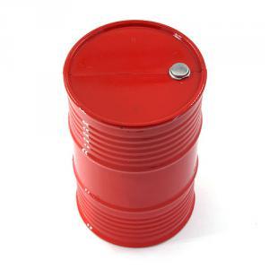 Oljefat 44 Gallon Röd Plast Dekoration (96x30mm)