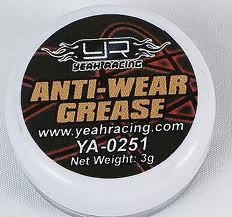 Anti-wear grease. 3g