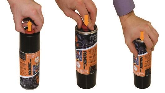 SVART Spray 2-komp. Foliatec 400ml