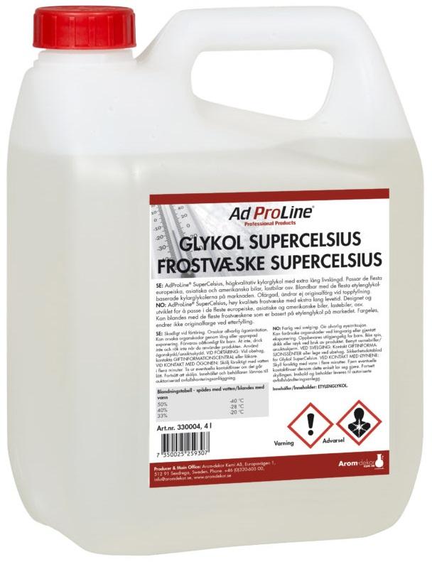 Supercelsius Glykol Konc. 4L | AdProline