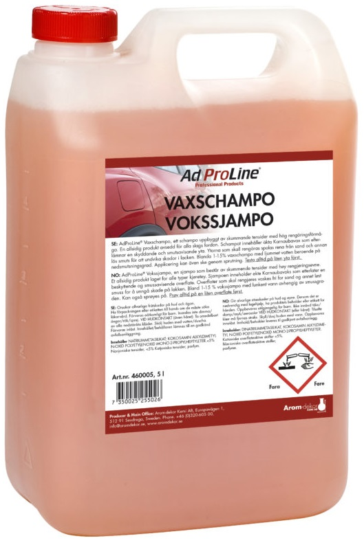 Vaxschampo 5L | AdProline