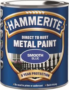 Blå Slätlack Hammerite 250ml