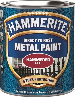 Röd Hammrad Hammerite 250ml