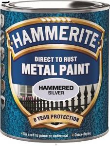 Silver Hammrad Hammerite 250ml