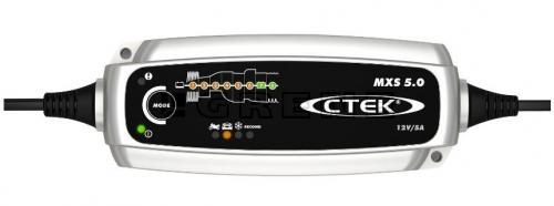 CTEK MXS 5.0 12V Batteriladdare