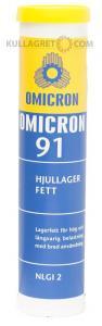 Omicron 91 Hjullagerfett 400g Patron