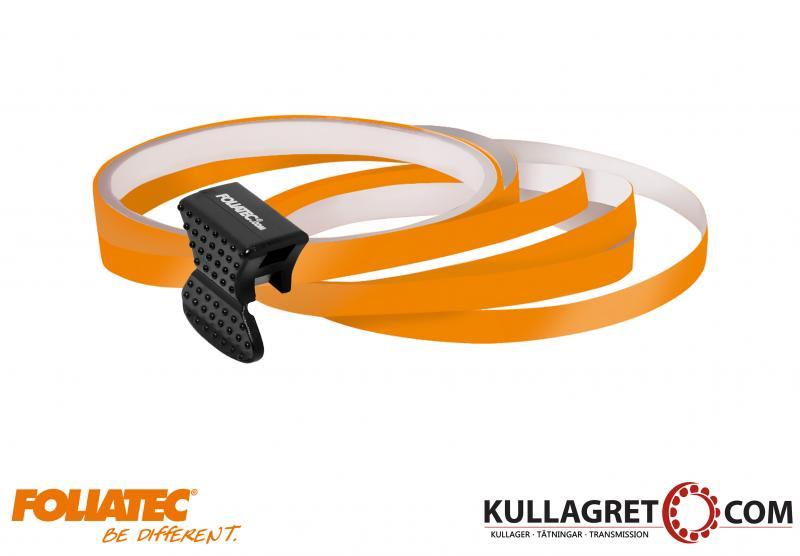 Orange Pin Striping | Foliatec