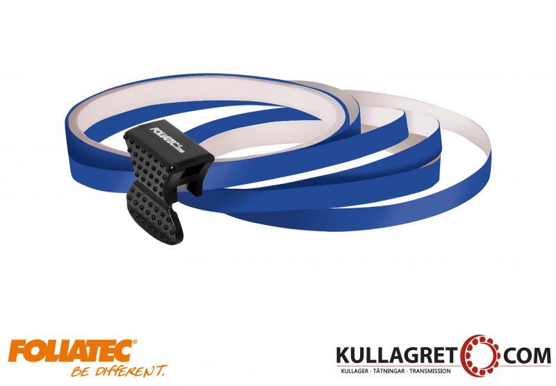 Mörkblå Pin Striping | Foliatec