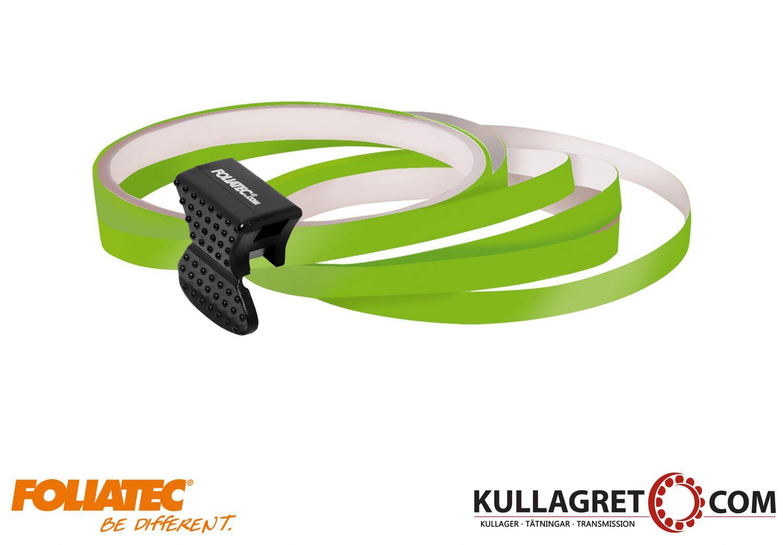 Power Green Pin Striping| Foliatec