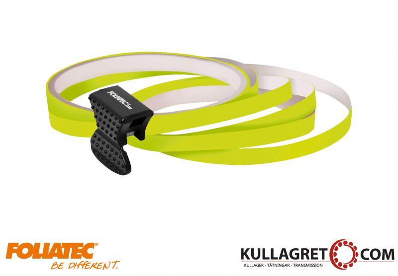 Neon Gul Pin Striping | Foliatec