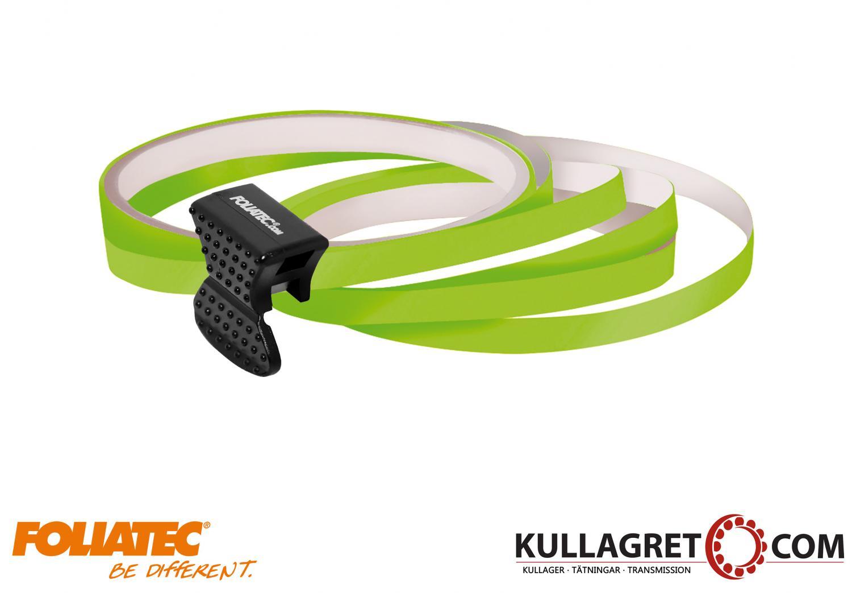 Neon Grön Pin Striping | FOLIATEC