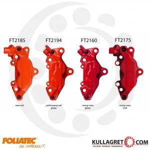 "Röd ""PERFORMANCE RED"" Bromsoksfärg Foliatec 2-komponent"