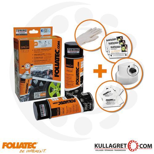 Antracite Metallic Foliatec Spray film SET