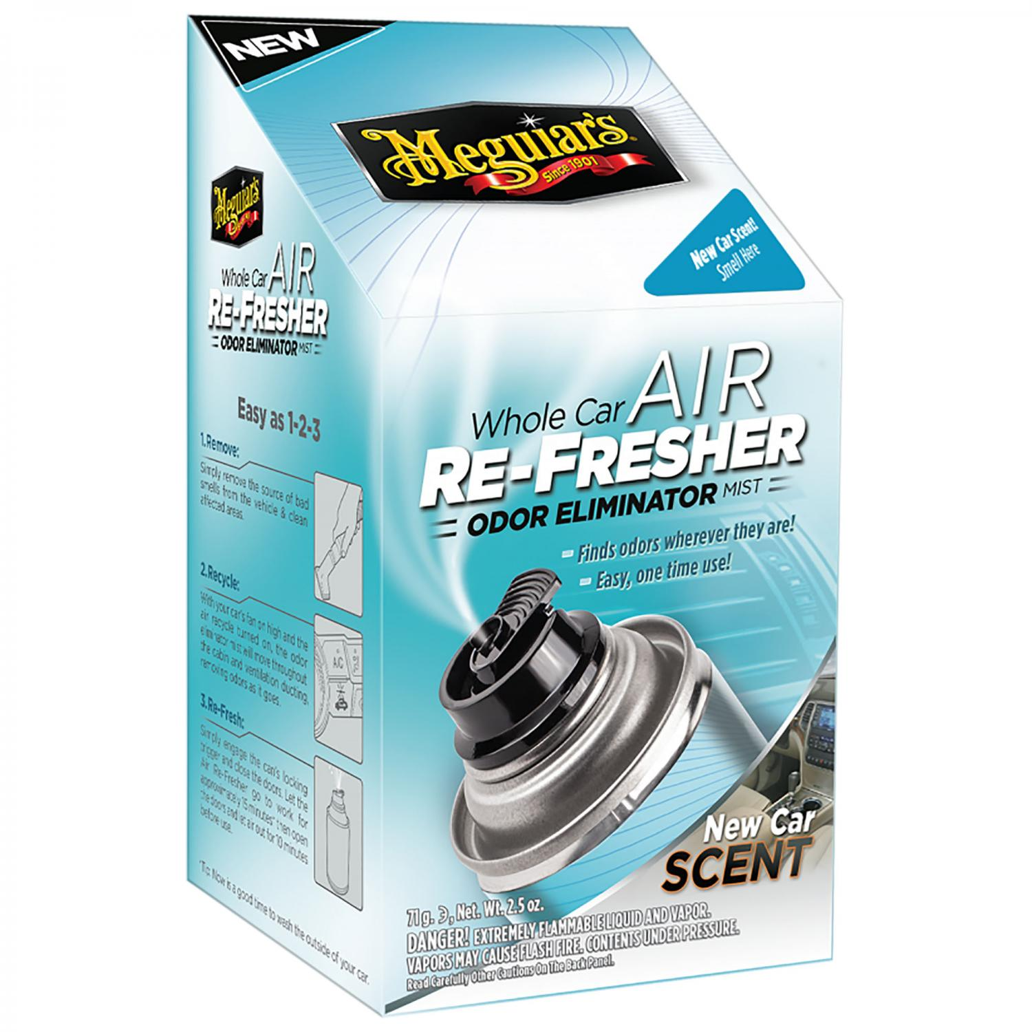 Air RE-FRESHER New Car Scent Meguiars