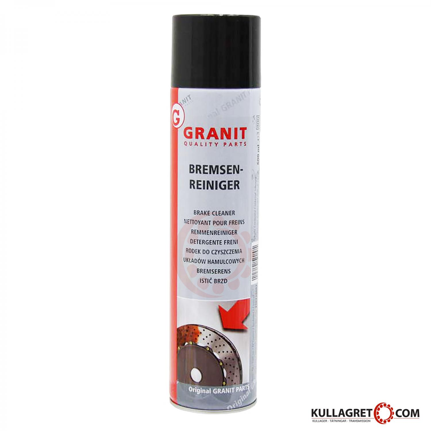 Granit BRAKE CLEANER (Bremsenreiniger) 600ml