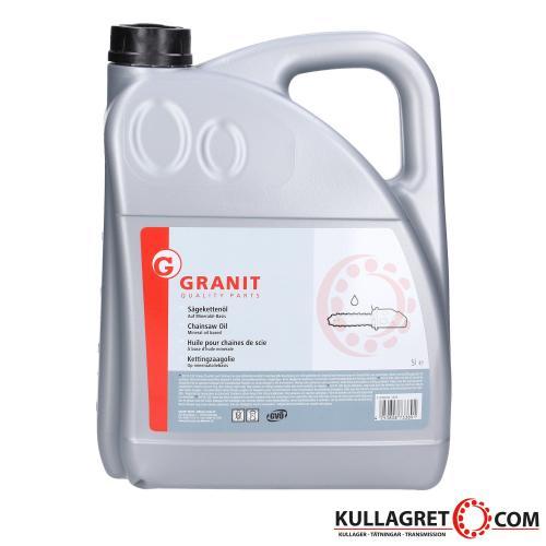 Granit Sågkedjeolja Mineral 5L