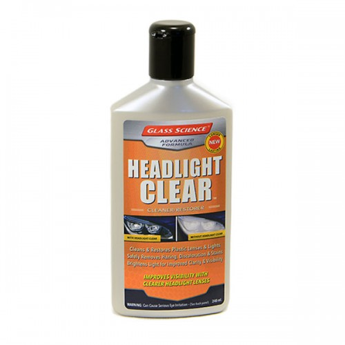 Headlight Clear 240ml   Glass Science