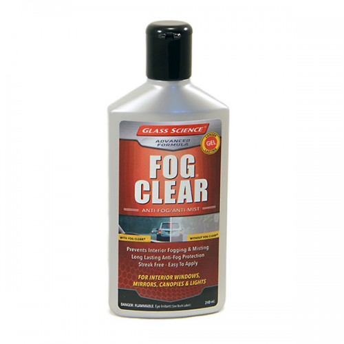 Fog Clear GEL 240ml | Glass Science