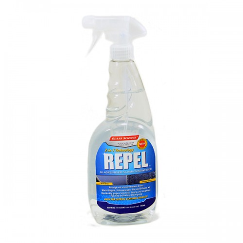 Repel 2 in 1 Spray 750ml   Glass Science