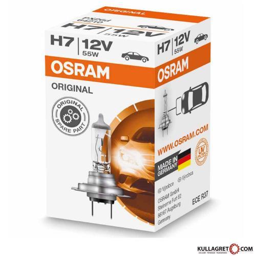 H7 55W 12V OSRAM ORIGINAL Line