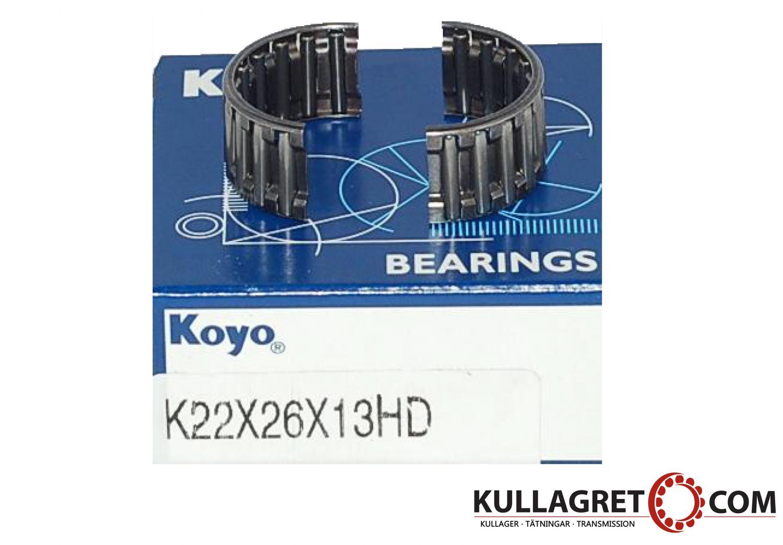 K 22x26x13HD Nålkrans 2-delad