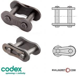 6mm (04B-1) Kedjelås CODEX