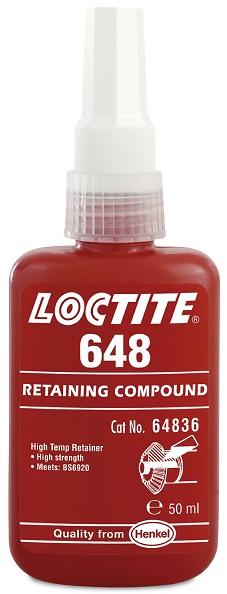 Loctite 648 250ml Cylindrisk Fastsättning