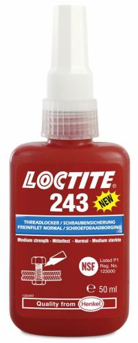 Loctite 243 50ml Gänglåsning