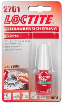 Loctite 2701 5ml Gänglåsning EXTRA STARK