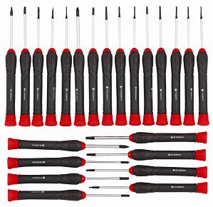 Skruvmejslar Precision 23-delar