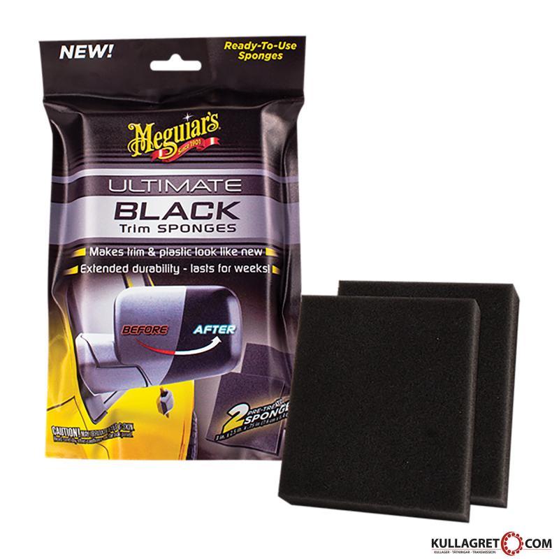 Ultimate Black Trim Sponges | Meguiars