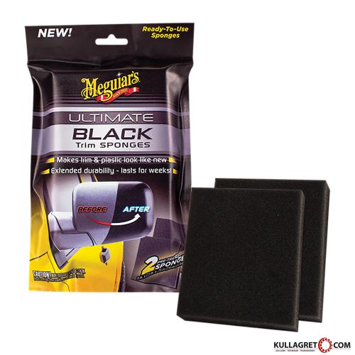 Ultimate Black Trim Sponges   Meguiars