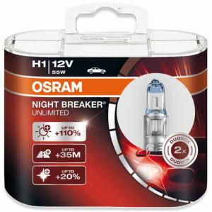 H1 Osram Night Breaker Unlimited 2-pack
