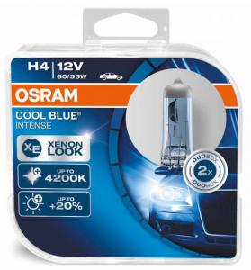 H4 Osram Cool Blue Intense 2-pack